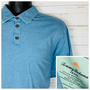 Tommy Bahama Jeans Island Modern Fit Polo Large